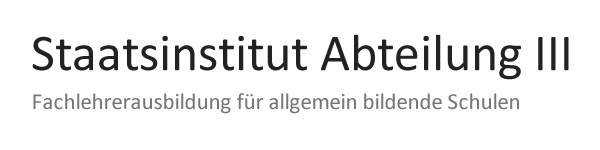 Staatsinstitut Ansbach Abt. III